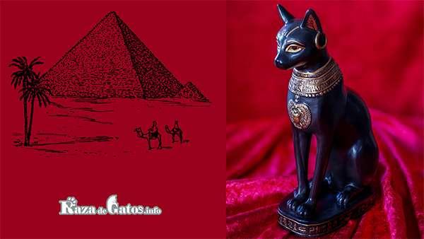 Diosa Bast. Leyendas del Origen de los Gatos